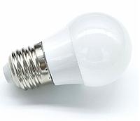 Світлодіодна лампа 3Вт G45 кулька E27 4000K LM3021, фото 1
