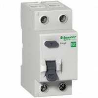 Дифференциальный выключатель нагрузки. С защитой от перенапряжения >280V. 63A/2Р/100мА/А