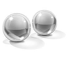 Вагинальные шарики стеклянные - Icicles №42  Medium