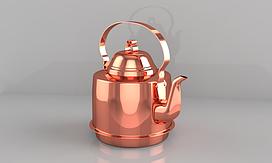 Мідний Чайник 2 літри (ZH Україна)