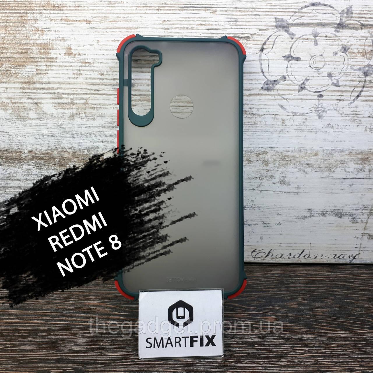 Чохол книжка для Xiaomi Redmi Note 8 G-Case Чорний