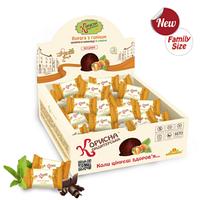Конфеты без сахара Курага с орехом в шоколаде Корисна кондитерська, 750 г
