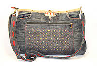 Женская сумочка из джинсовых штанов, фото 1