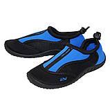 Обувь для пляжа и кораллов (аквашузы) SportVida SV-GY0002-R39 Size 39 Black/Blue, фото 3