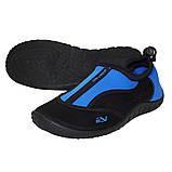 Обувь для пляжа и кораллов (аквашузы) SportVida SV-GY0002-R39 Size 39 Black/Blue, фото 4