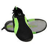 Обувь для пляжа и кораллов (аквашузы) SportVida SV-GY0004-R45 Size 45 Black/Green, фото 2