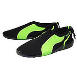 Обувь для пляжа и кораллов (аквашузы) SportVida SV-GY0004-R45 Size 45 Black/Green, фото 3