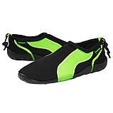 Обувь для пляжа и кораллов (аквашузы) SportVida SV-GY0004-R45 Size 45 Black/Green, фото 5