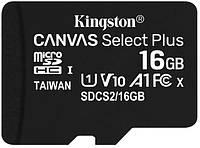 Карта памяти Kingston microSDHC 16Gb Canvas Select Plus A1 UHS-1 (R-100 Mb/s), фото 1