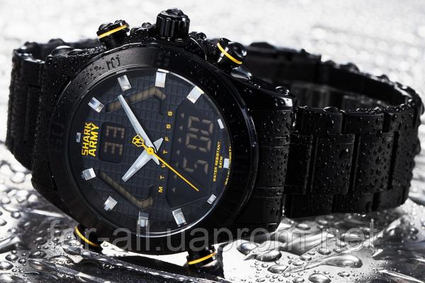 Часы в стиле милитари Shark Army SA56071