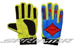 Перчатки вратарские детские клубные REXIN+COTTON