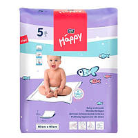 Bella baby Happy Пеленки (60 х 60 см) 5 шт