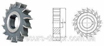 Фреза дисковая трехсторонняя ф 63х12х22 мм Р6М5 прямой зуб