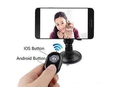 Пульт дистанционного управления камерой кнопка автопуска для смартфонов (к моноподу)