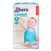 """Libero Comfort Maxi """"4"""" Детские подгузники (7-14 кг) 80 шт"""