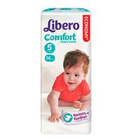 """Libero EcoTech Comfort Fit Maxi Plus """"5"""" Детские подгузники (10-16 кг) 56 шт"""