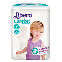 "Libero EcoTech Comfort Fit XL Plus ""7"" Детские подгузники (15-30 кг) 28 шт"