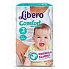 """Libero Comfort Midi """"3"""" Детские подгузники (4-9 кг) 22 шт"""