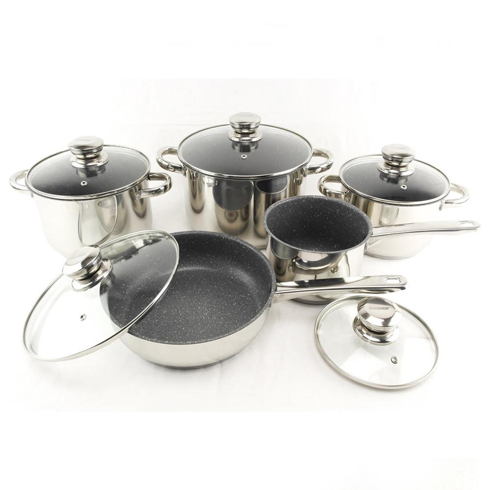 Набір посуду 12 предметів SwissHaus 1252