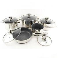 Набір посуду 12 предметів SwissHaus 1252, фото 1