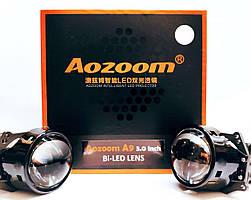 Линзы Bi-LED Aozoom А9+ 3 дюйма 50Вт 12В 5500K