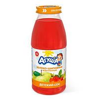 Агуша «Яблоко-шиповник» Сок осветленный 150 мл