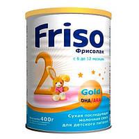 «Friso» Фрисолак Gold 2 Сухая молочная смесь 400 г