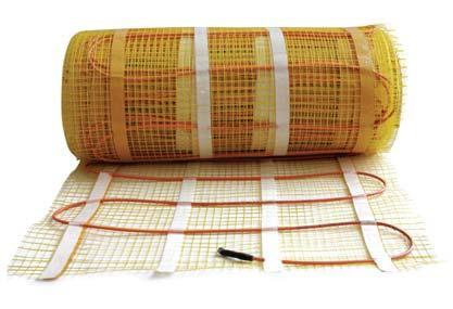 Теплый пол электрические Ceilhit 400 Вт, 2,6 м2 двухжильный экранированный