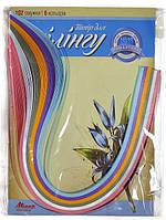 Набор для квиллинга на планшете №18 Серия Романтика 5 цветов*420 мм.Мицар