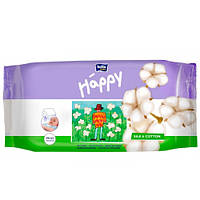 Bella baby Happy Silk&Cotton Влажные салфетки 64 шт
