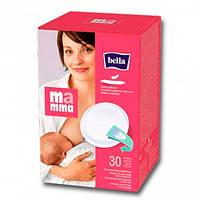 Bella Mamma Лактационные вкладыши/прокладки для кормящих мам 30 шт