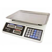 ТОРГОВЫЕ ВЕСЫ Domotec 809 (4 v) 55 kg, весы торговые, весы напольные, веса, ваги