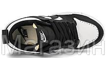 Мужские женские кроссовки Nike Dunk Low Disrupt White/Black (Найк Данк низкие) черные белые CK6654-102, фото 3