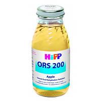 HiPP «ORS 200» Яблочный раствор для оральной регидратации Лечебный раствор 200 мл