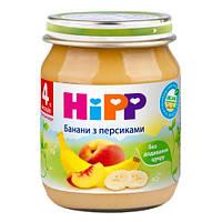 HiPP «Бананы с Персиками» Фруктовое пюре 125 г