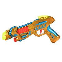 Великий іграшковий пістолет (звук,світло),26х14 см,дитяча іграшкова зброя,пістолет дитячий, фото 1