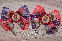 Бантики для волос принцесса София