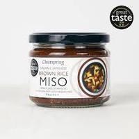 Паста Мисо с коричневым рисом непастеризованная органическая, 300 г, TM CLEARSPRING