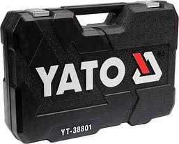 Набор инструментов для авто 120 предметов YATO YT-38801, фото 3
