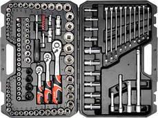 Набір інструментів для авто 120 предметів YATO YT-38801
