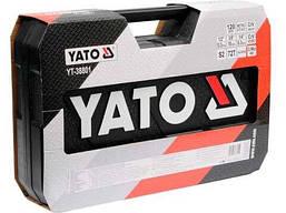Набор инструментов для авто 120 предметов YATO YT-38801, фото 2