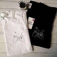 Парные футболки с самым романтичным принтом