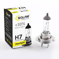 Галогенная лампа Solar H7 StarLight +30% 12V 55W 1207