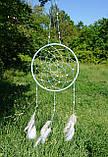 """Ловец снов с лебедиными перьями """"Нежность"""", фото 6"""
