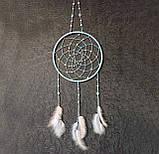 """Ловец снов с лебедиными перьями """"Нежность"""", фото 8"""