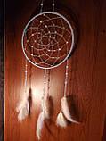 """Ловец снов с лебедиными перьями """"Нежность"""", фото 3"""