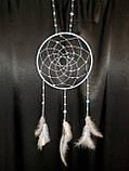 """Ловец снов с лебедиными перьями """"Нежность"""", фото 9"""