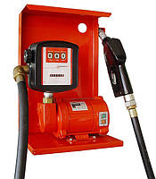 Насос для заправки, перекачки бензина, керосина, ДТ со счетчиком SAG 600 + MG80V, 12В, 45-50 л/мин, фото 1