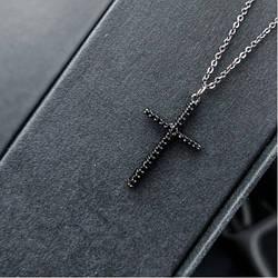Подвеска Black cross