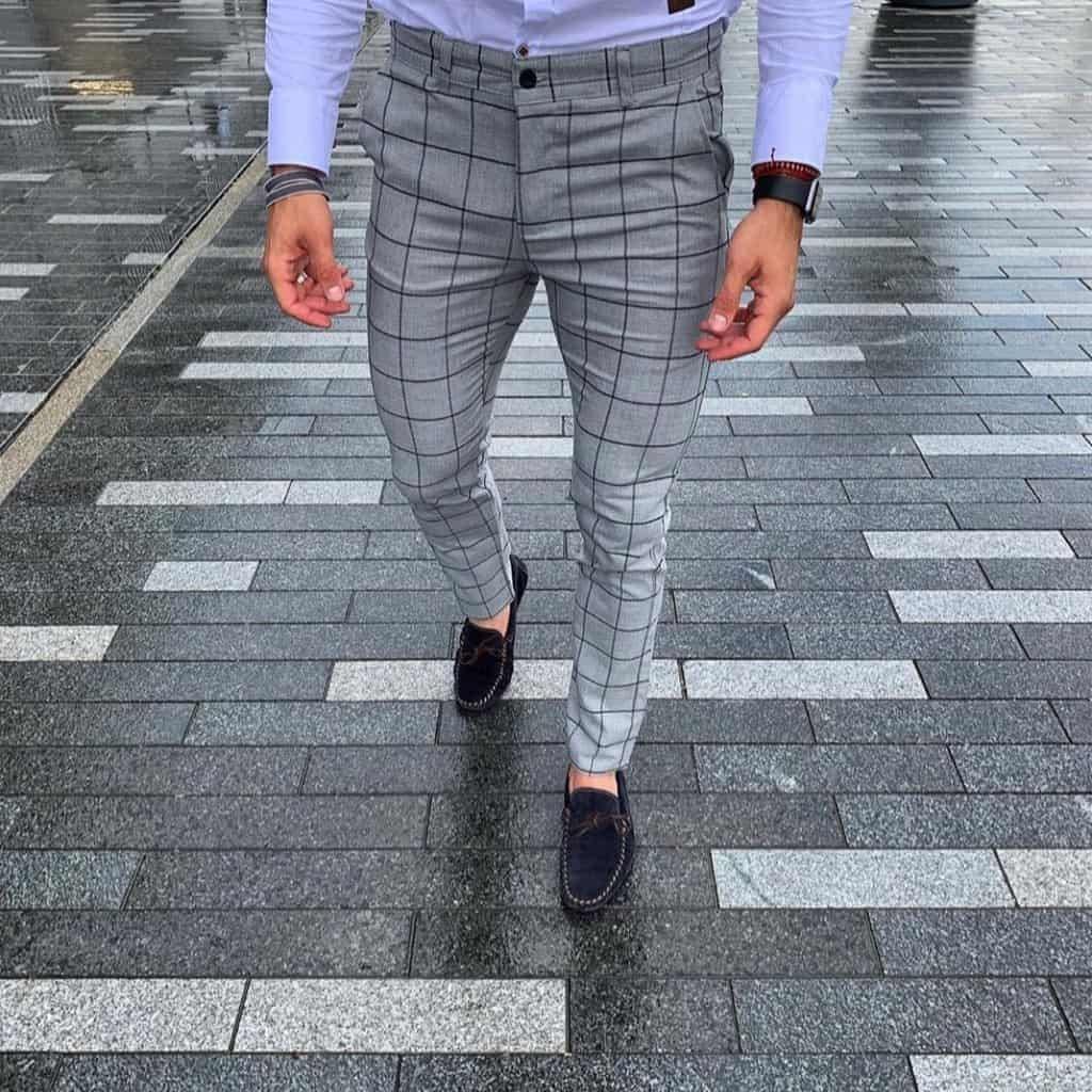 Чоловічі штани сірі DJ-205